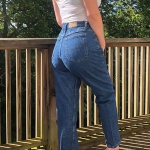 Vintage Riders High Rise Denim Mom Jeans